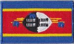 Swaziland Embroidered Flag Patch, style 04